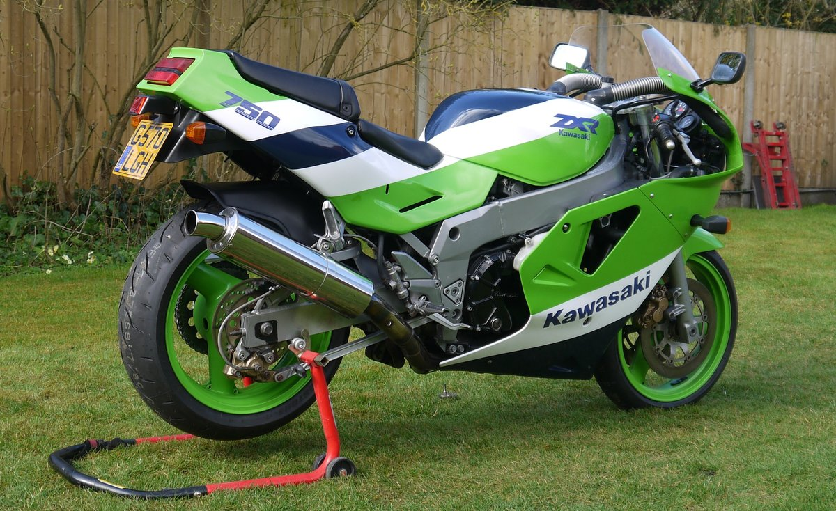 1989 Kawasaki ZXR750H1  SOLD (picture 2 of 6)