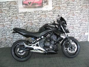 2012 12-reg Kawasaki ER6N Finished in black