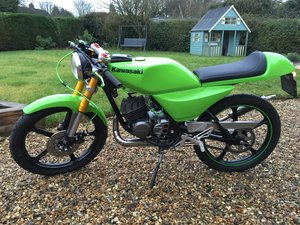 Kawasaki ar50 restomod