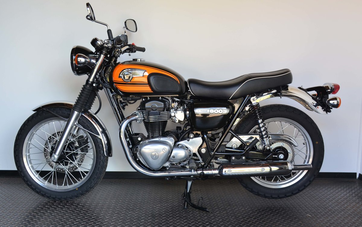 2017 Kawasaki W 800 Final Edition For Sale (picture 2 of 10)