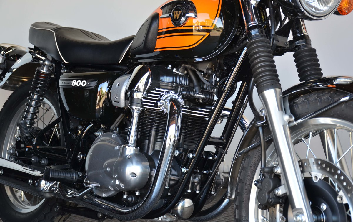 2017 Kawasaki W 800 Final Edition For Sale (picture 8 of 10)