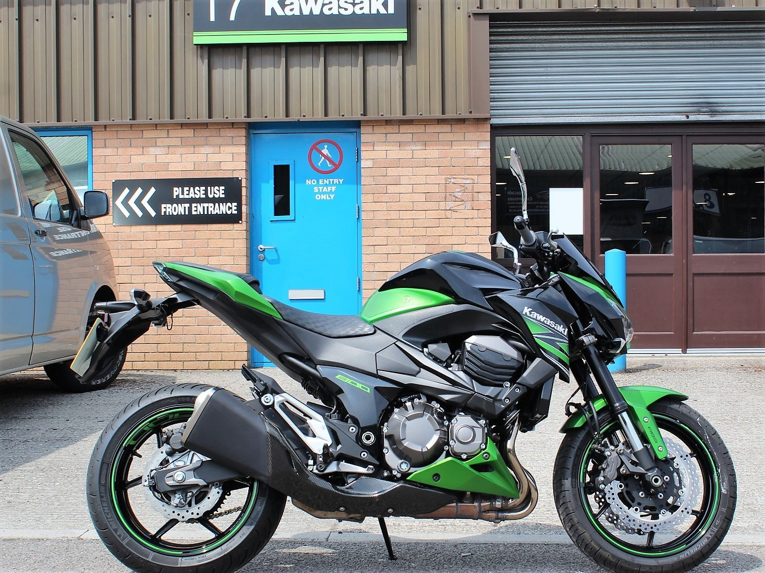 2015 15 Kawasaki Z800 ABS Naked Roadster For Sale (picture 1 of 6)