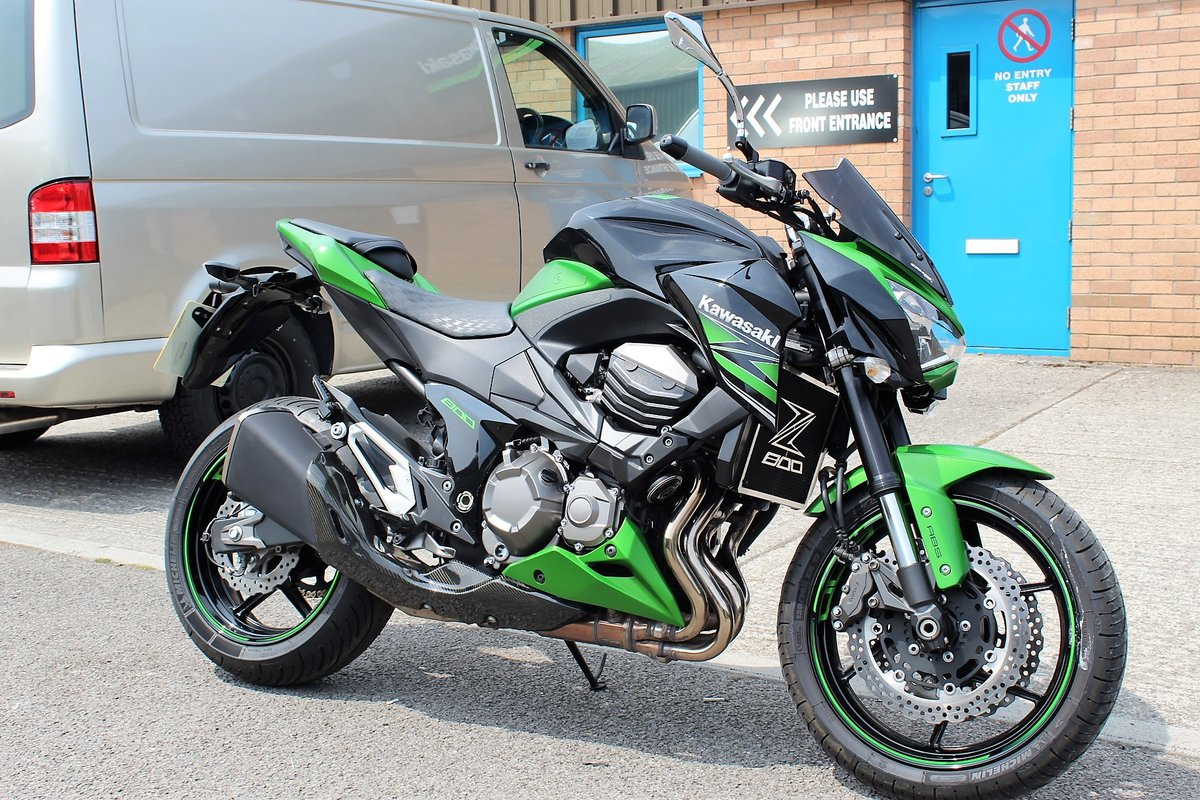 2015 15 Kawasaki Z800 ABS Naked Roadster For Sale (picture 2 of 6)