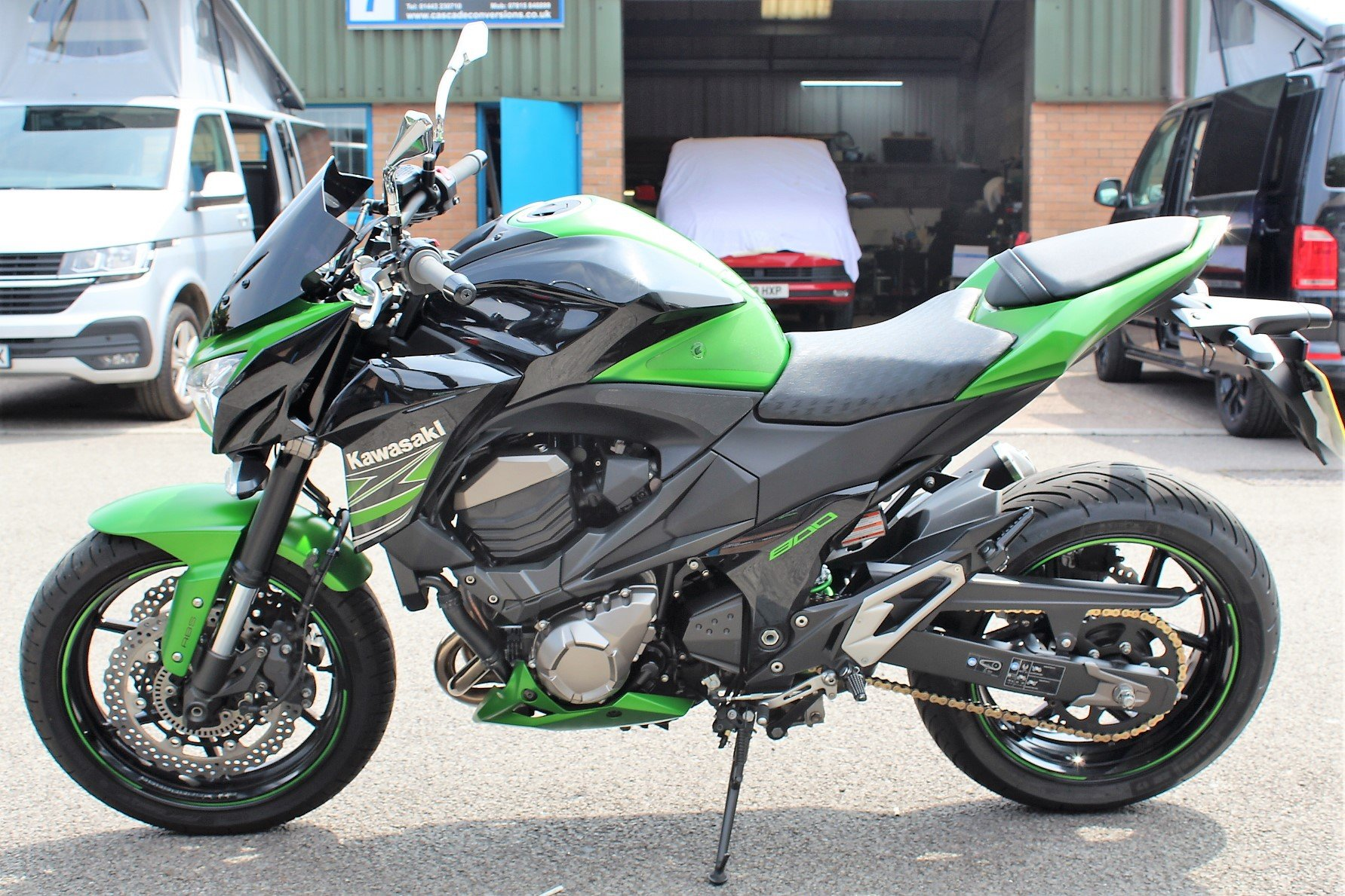 2015 15 Kawasaki Z800 ABS Naked Roadster For Sale (picture 4 of 6)