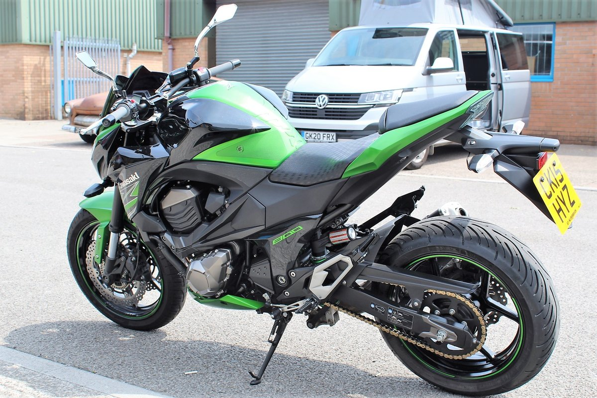 2015 15 Kawasaki Z800 ABS Naked Roadster For Sale (picture 5 of 6)