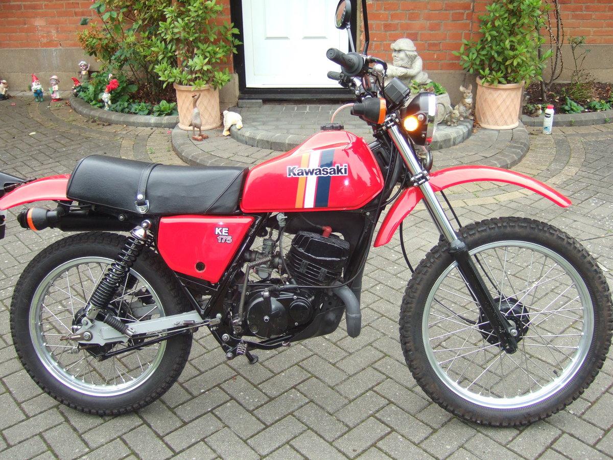 Kawasaki KE175 1981 SOLD (picture 1 of 6)