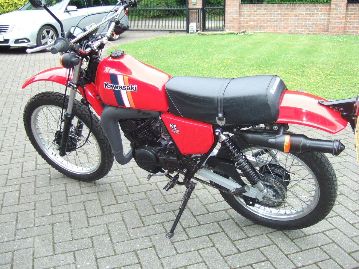 Kawasaki KE175 1981 SOLD (picture 2 of 6)