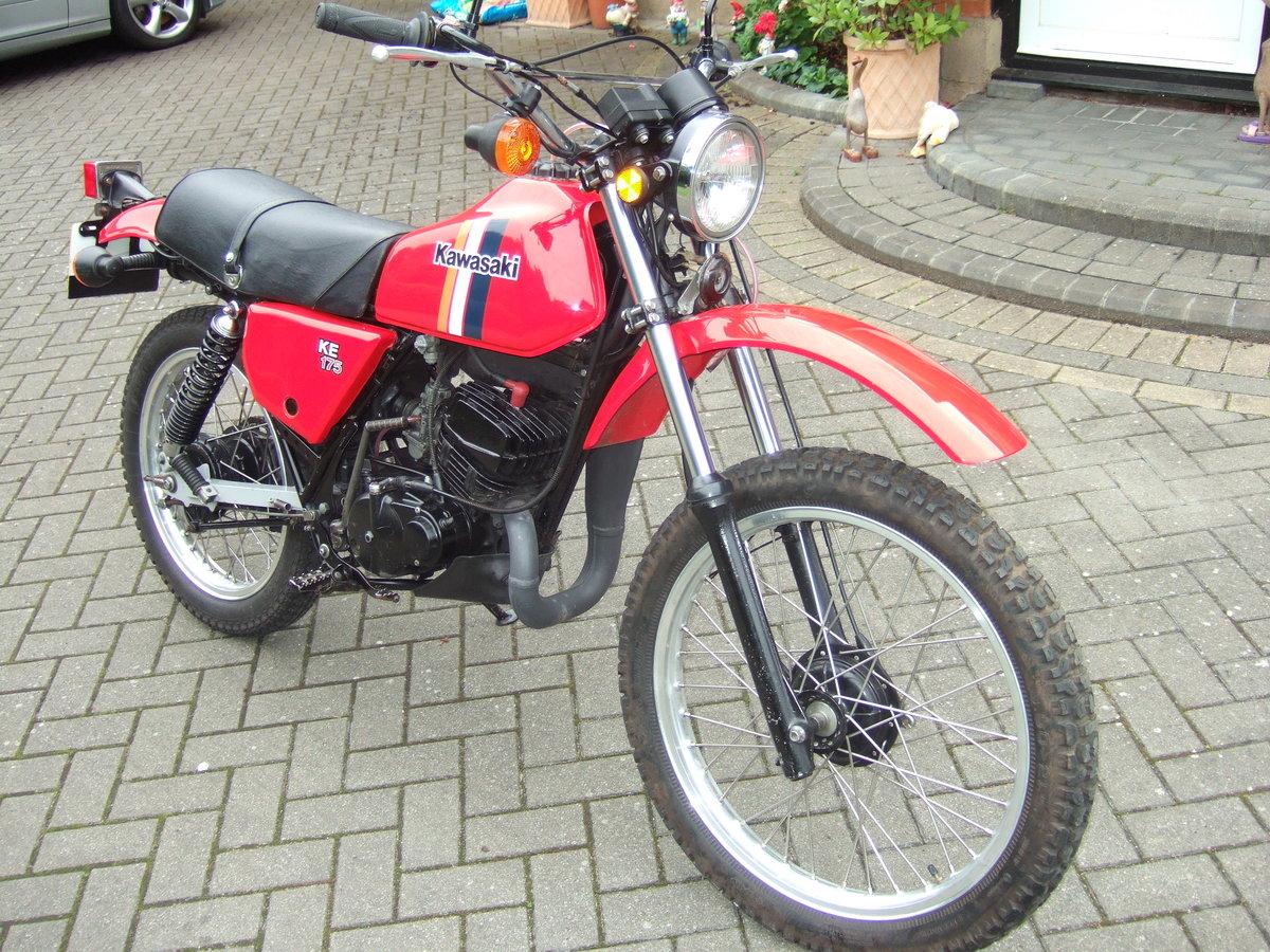 Kawasaki KE175 1981 SOLD (picture 3 of 6)