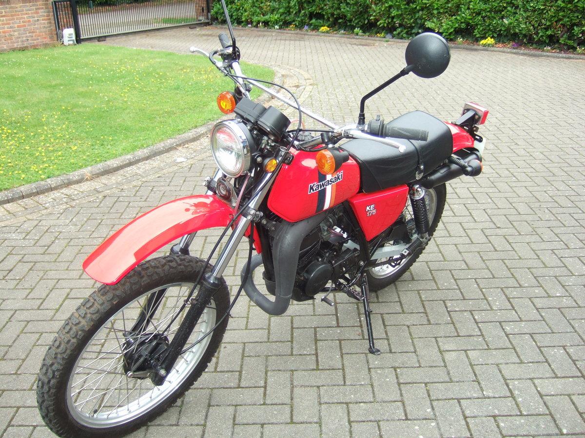 Kawasaki KE175 1981 SOLD (picture 4 of 6)
