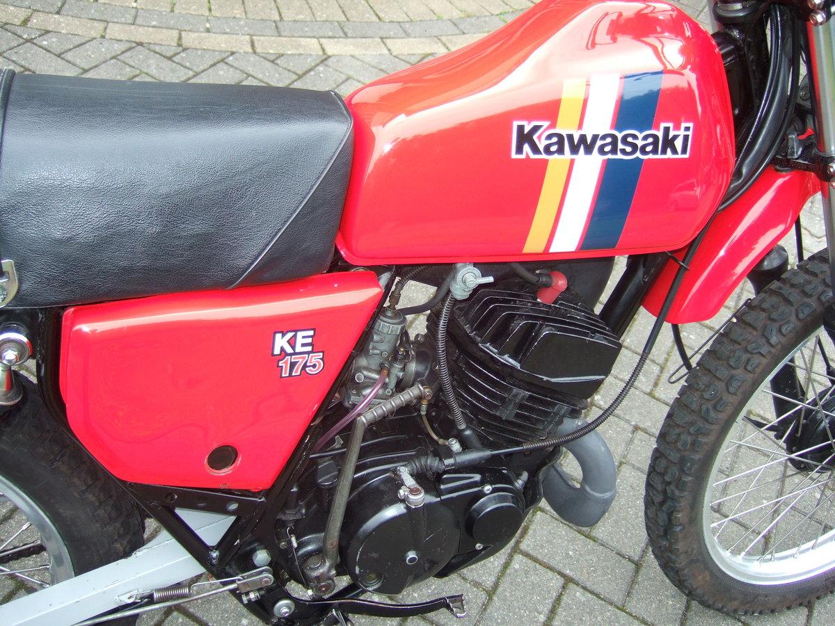 Kawasaki KE175 1981 SOLD (picture 5 of 6)