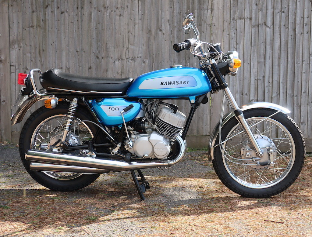 1971 Kawasaki Mach III / H1A For Sale (picture 1 of 6)