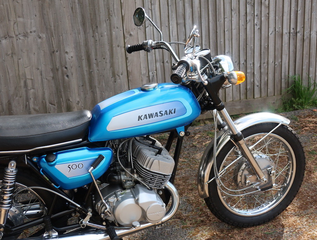 1971 Kawasaki Mach III / H1A For Sale (picture 2 of 6)