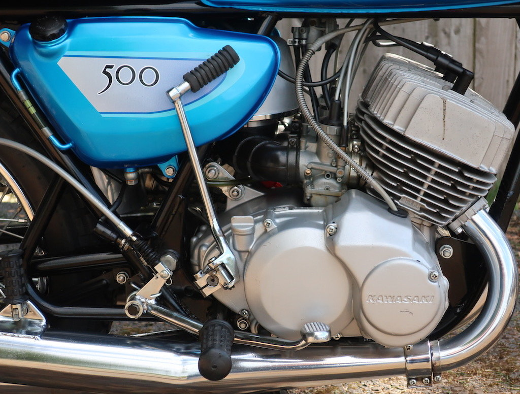1971 Kawasaki Mach III / H1A For Sale (picture 3 of 6)