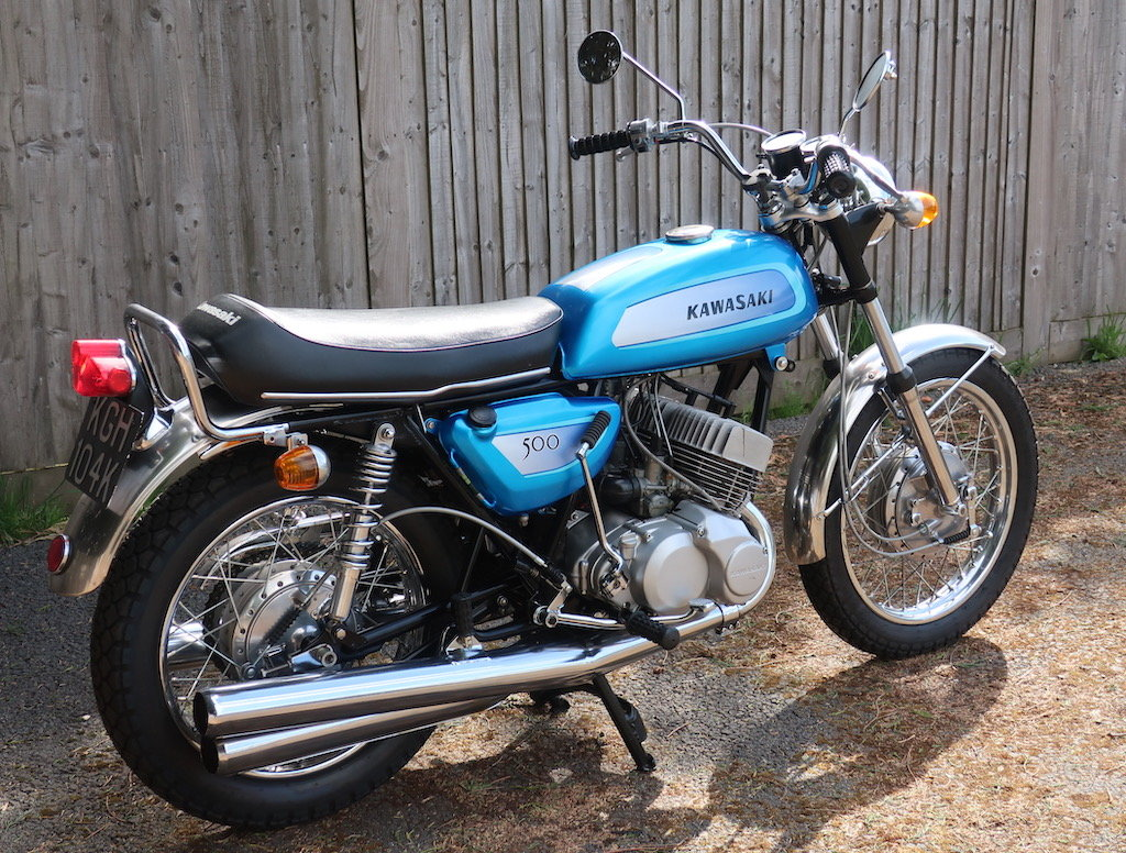 1971 Kawasaki Mach III / H1A For Sale (picture 4 of 6)