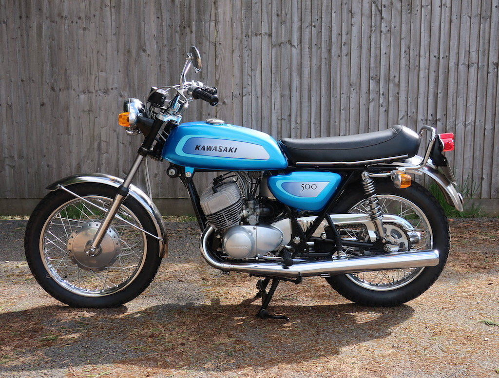 1971 Kawasaki Mach III / H1A For Sale (picture 5 of 6)