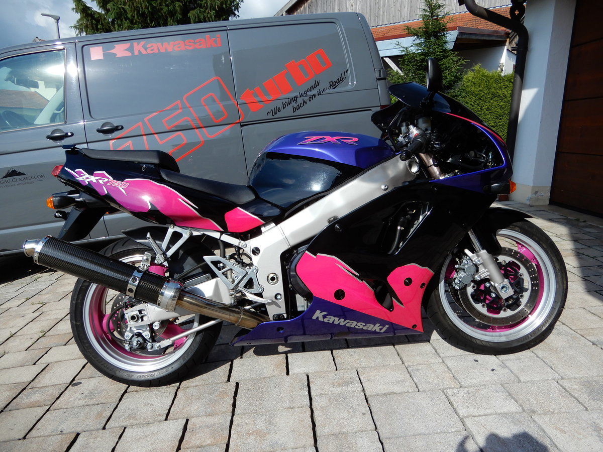 1995 Kawasaki ZXR750 2 owner since new very nice state For Sale (picture 1 of 6)