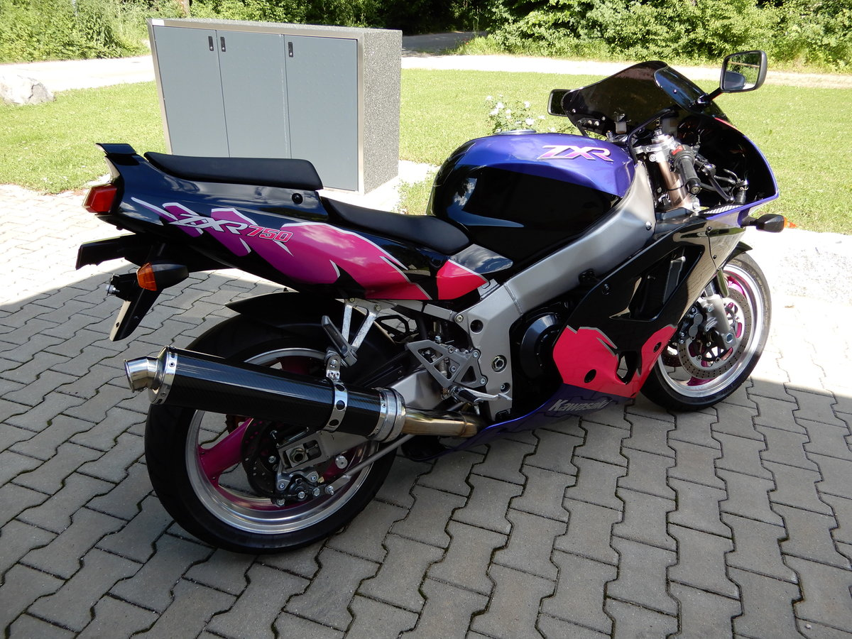 1995 Kawasaki ZXR750 2 owner since new very nice state For Sale (picture 6 of 6)