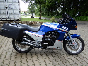 1988 Kawasaki GPZ900R 25.672 miles with touring package For Sale
