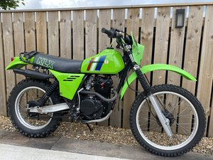 Picture of 1980 KAWASAKI KLX 250 KLX250 VERY RARE CLASSIC TRAIL BIKE £3495 O For Sale
