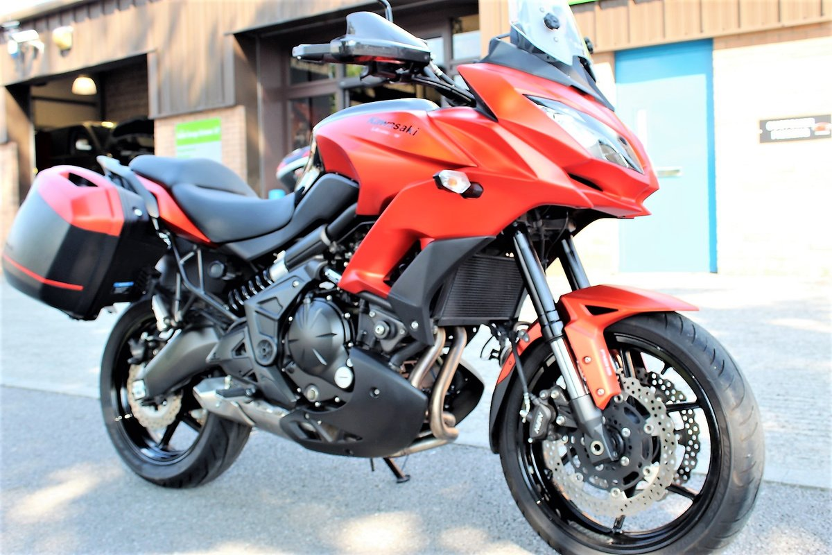 2016 16 Kawasaki Versys 650 ABS Tourer Adventure For Sale (picture 2 of 6)