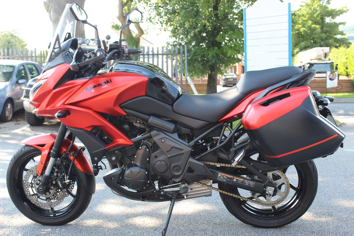 2016 16 Kawasaki Versys 650 ABS Tourer Adventure For Sale (picture 4 of 6)