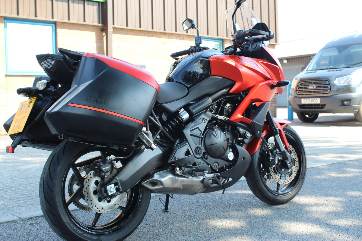 2016 16 Kawasaki Versys 650 ABS Tourer Adventure For Sale (picture 6 of 6)