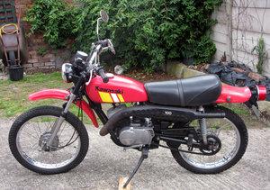 Kawasaki ke100 classic dual sport