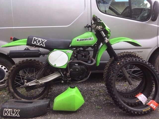 1980 Kawasaki LX250 For Sale (picture 1 of 1)