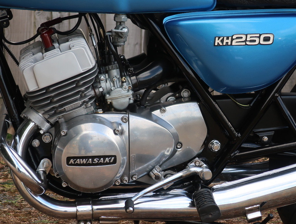 1978 Kawasaki KH250 B3 For Sale (picture 5 of 6)