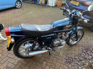 Classic Kawasaki KZ550