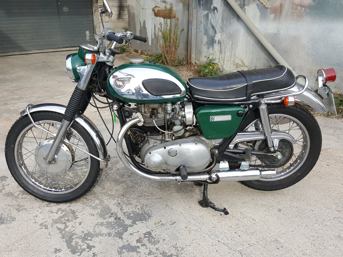 1968 Kawasaki W2SS - a rare surviver and runner For Sale (picture 2 of 6)