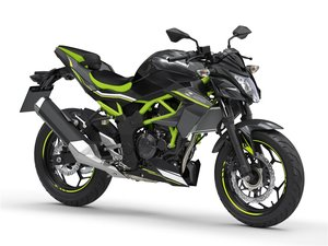 New 2020 Kawasaki Z125 ABS Black