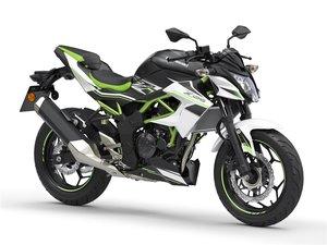 Picture of New 2021 Kawasaki Z125 ABS White For Sale