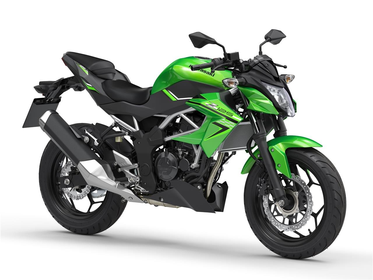 New 2021 Kawasaki Z 125 ABS Green For Sale (picture 1 of 6)