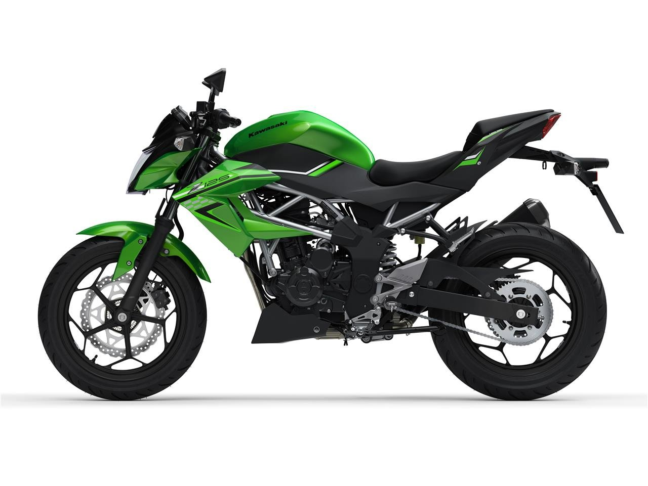 New 2021 Kawasaki Z 125 ABS Green For Sale (picture 3 of 6)