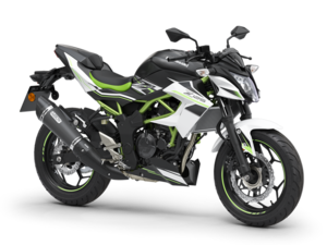 New 2020 Kawasaki Z125 ABS Performance Naked Roadster White
