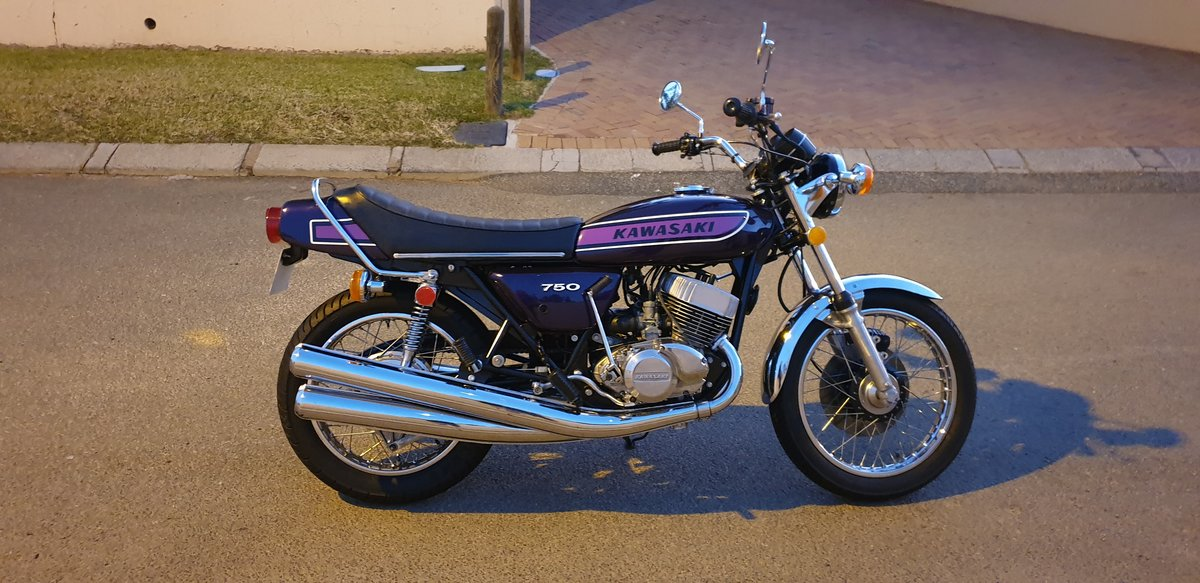 1974 Kawasaki Kh750 H2 For Sale (picture 1 of 6)