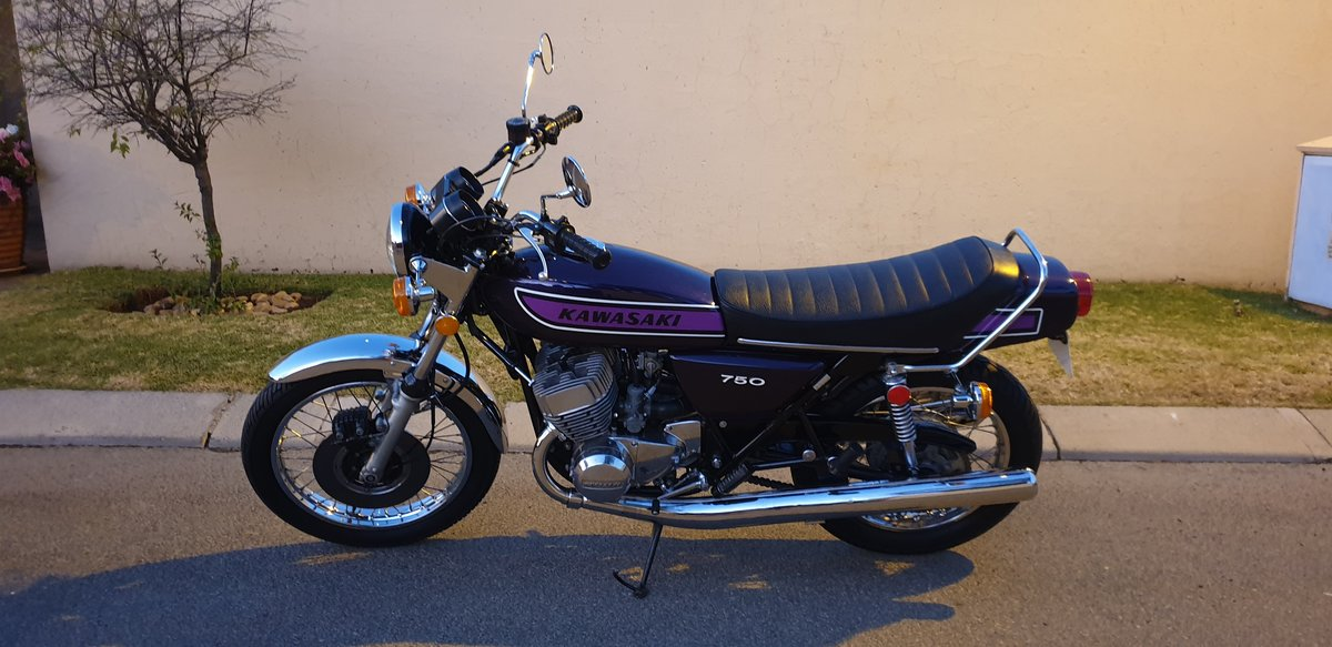 1974 Kawasaki Kh750 H2 For Sale (picture 2 of 6)