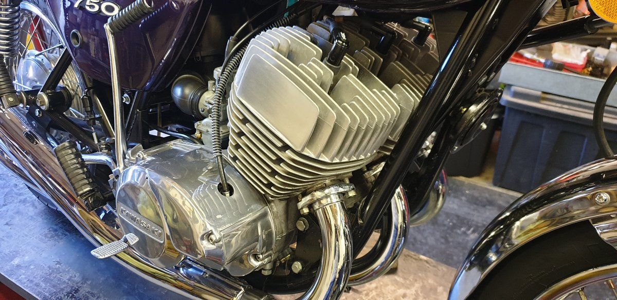 1974 Kawasaki Kh750 H2 For Sale (picture 4 of 6)