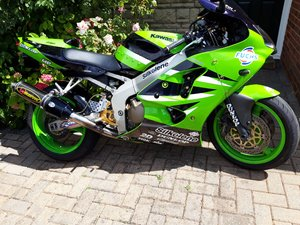 2002 ZX-6R Andrew Pitt Supersport edition