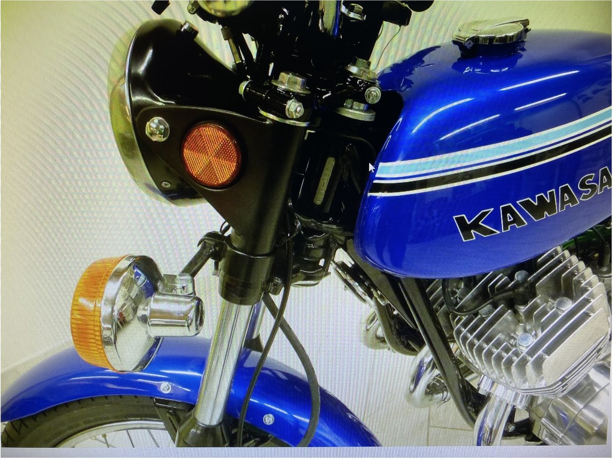 1972 Kawasaki H2 fully restored by specialized workshop For Sale (picture 4 of 4)