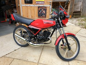 Kawasaki AR80-A1 completely restored