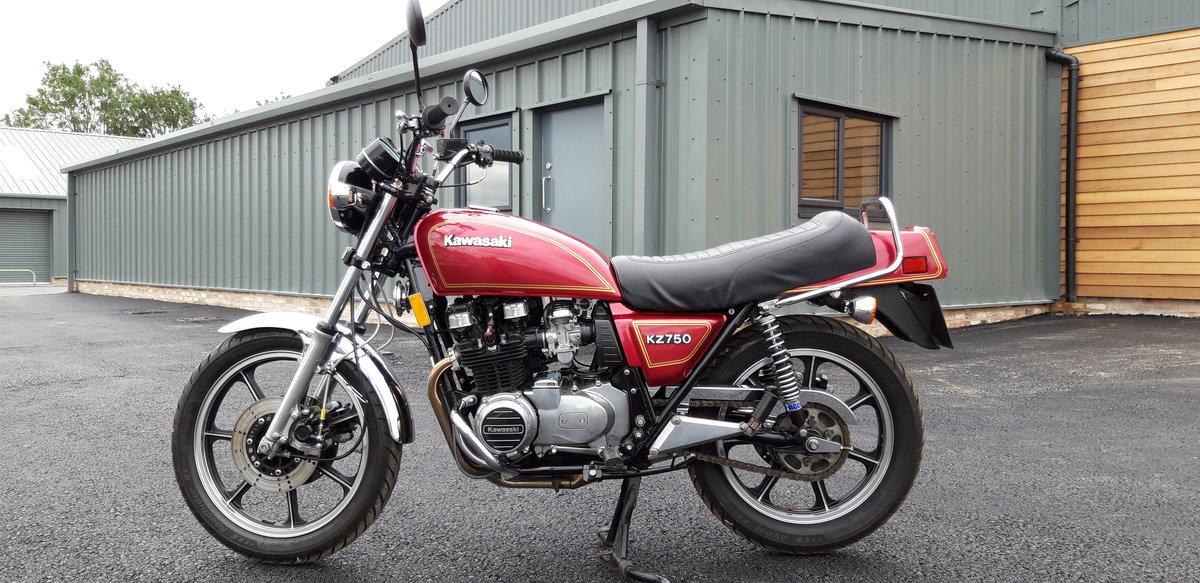 1980 Kawasaki KZ 750E For Sale (picture 1 of 6)