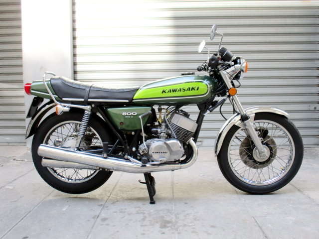 KAWASAKI 500 H1 / F MACH III (1976) MYTHICAL For Sale (picture 1 of 6)
