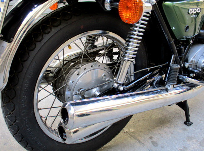 KAWASAKI 500 H1 / F MACH III (1976) MYTHICAL For Sale (picture 5 of 6)