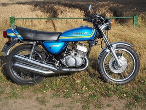 1976 Kawasaki KH250 For Sale by Auction