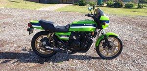 Kawasaki Z1000R Eddie Lawson been stored.