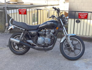 Kawasaki kz550ltd part restored with 12 months MOT