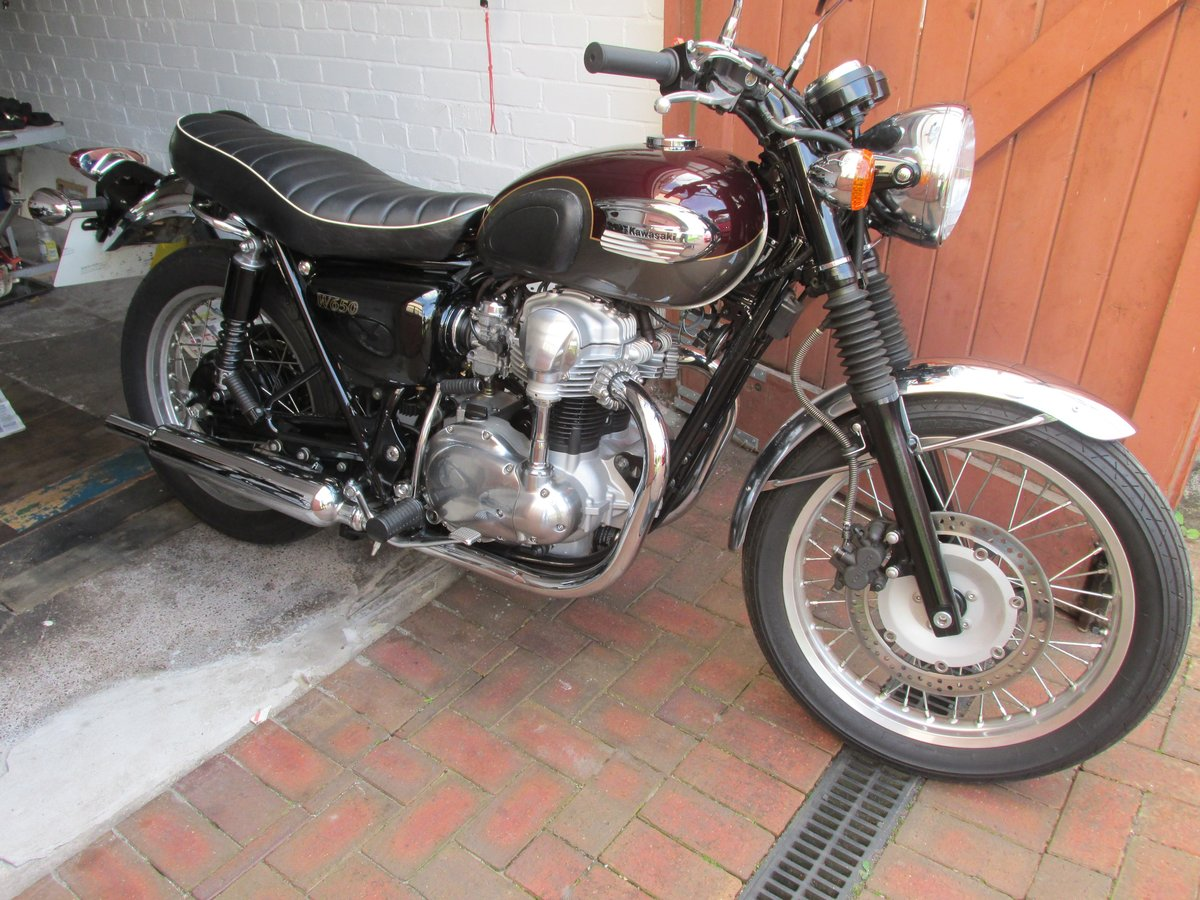 2006 Kawasaki W650 1 Owner. Very low Miles For Sale (picture 1 of 6)