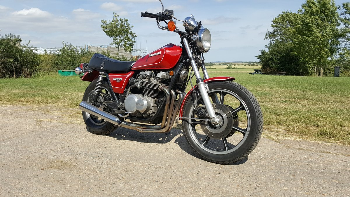 Kawasaki KZ650SR 1979 In very nice condition For Sale (picture 1 of 5)